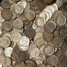 Coin Range 1946-1964 Roosevelt Dime Classic Avg Circulated 90% Silver Lot