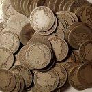 Coin Range 1892-1915 Barber Half Dollar Classic AG/Better 90% Silver