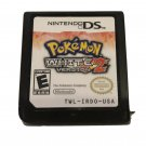 Original Pokemon White Version 2 NDS Game Card For DS Console