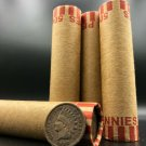 Indian Head Penny Wheat Cent Roll Rare Old US Cents Mixed Dates Coins