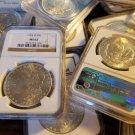 Special Estate Lot US Morgan Silver Dollar 1 PCGS or NGC Certified OSP MS62