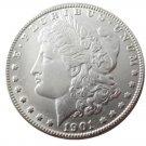 New Silver US 1901 Morgan Dollar Premium Coin Art