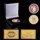 Super Sky USA Vietnam Memorial Marine Corps Army Coin With Box