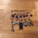DOCTOR WHO themed charm pin