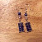 TARDIS (doctor who) earrings