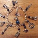 DOCTOR WHO themed charm bracelet
