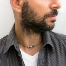 Men's Necklace - Men's Choker Necklace - Men's Silver Necklace - Men's Jewelry - Men's Gift