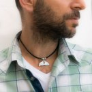Men's Necklace - Men's Choker Necklace - Men's Vegan Necklace - Men's Jewelry - Men's Gift
