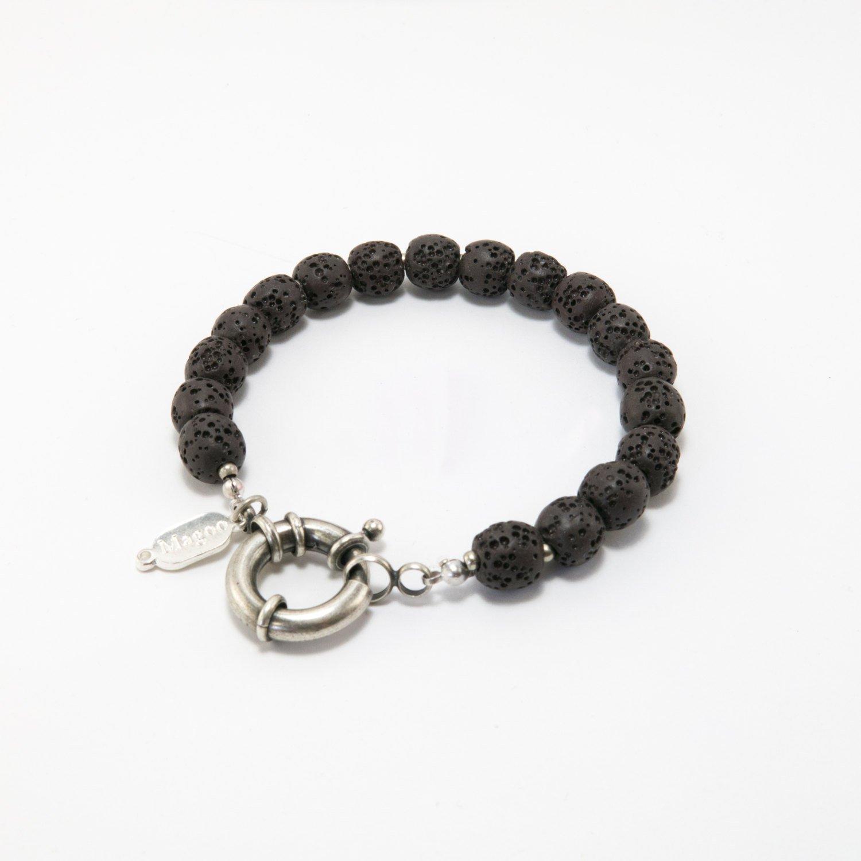 Men Bracelet - Men Beaded Bracelet - Men Jewelry - Men Vegan Bracelet - Men Gift