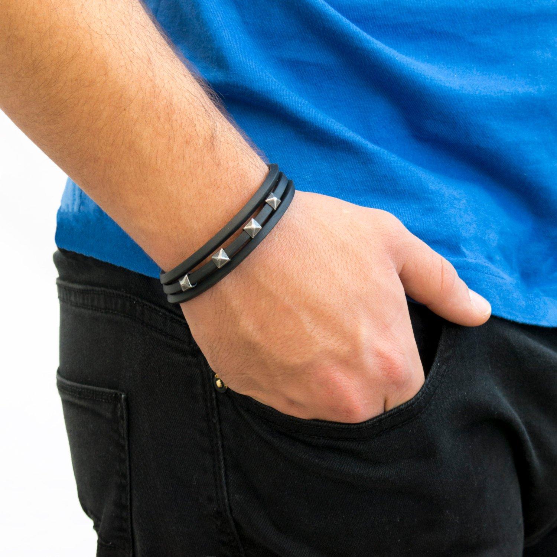 Men's Bracelet - Men's Vegan Bracelet - Men's Beaded Bracelet - Men's Jewelry - Men's Gift