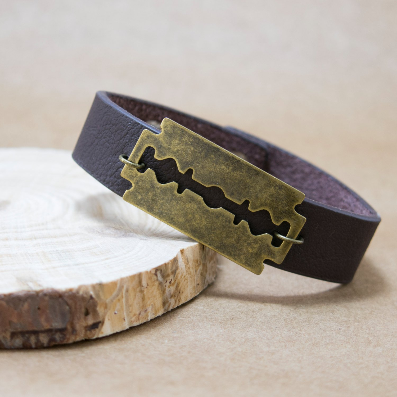Men Bracelet - Men Jewelry - Men Leather Bracelet - Men Gift - Bracelets For Men