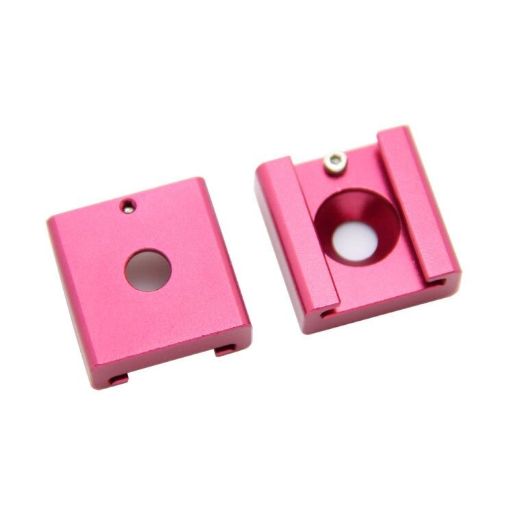 "CAMVATE 2pcs Cold Hot Shoe Mount Adapter Bracket with 1/4""-20 for DSLR camera video"