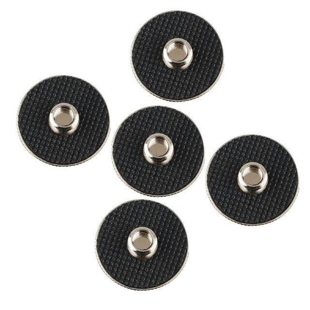 "CAMVATE 5pcs 1/4"" to 3/8"" adapter screw for tripod DSLR camera QR plate"