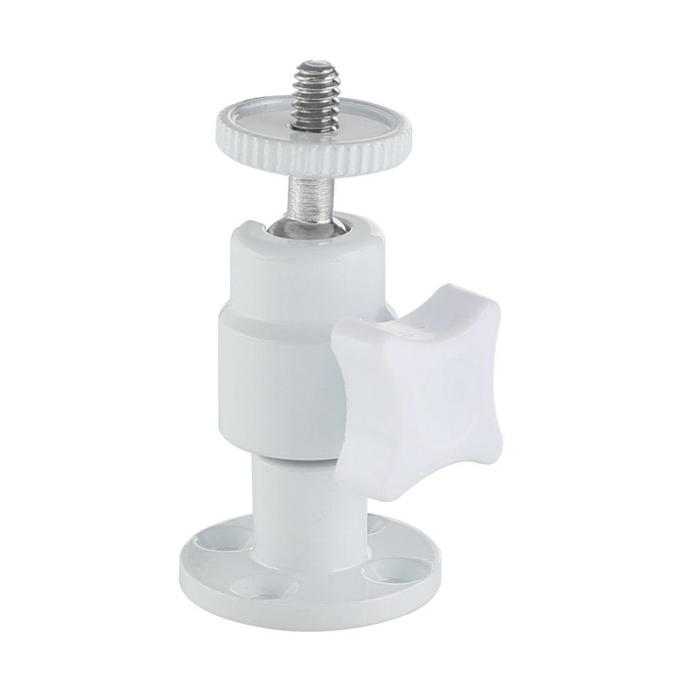 "CAMVATE Single Ball Head Support Holder 1/4""-20 Connector With Wall Ceiling Mount Base C2547"