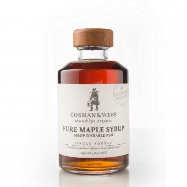 Pure, Organic Maple Syrup 250ml (8.5 fl oz)