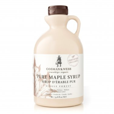 Pure, Organic Maple Syrup 1lt (33.8 fl oz)