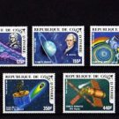 IVORY COAST - 1985 - SPACE - HALLEY - COMET - SKYLAB + 5 X MINT SET!