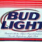 BUD LIGHT Budweiser Beer FLAG, 3'x5' cloth poster banner FLAG