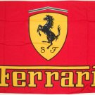 FERRARI Red Checkered FLAG, 3'x5' Flag banner cloth poster FLAG
