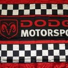 DODGE MOTORSPORTS FLAG, 3'x5' Flag banner cloth poster FLAG