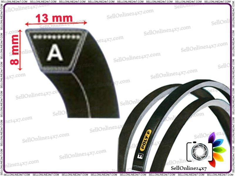 Brand New Industrial V Belts-Lawn,Garden A Section V Belt Size A21-A162