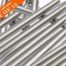 A2 Stainless Steel 304 Fully Threaded Rod/Bar -M5 -100mm To 500mm