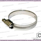 Stainless Steel Hose Clamps Clips 50mm To 70mm-Retail/Wholesale Pack 2-100