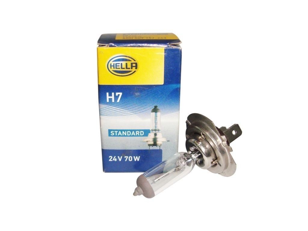 Genuine Hella H7 Bulb 24V 70W -PX26D -Volvo Headlight OE Replacement