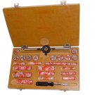 Tap Dies Set 0 To 10 B.A For Boxed Set Complete British Association 47 Piece