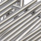 """Pies Of 2 A2 Stainless Steel 304 Fully Threaded Rod/Bar/Studs -M6 x 300mm 12"""""""