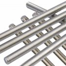 Round Head A2 Stainles Steel 304 Fully Threaded Rod/Bar -M20 x 200mm - 5 Pieces