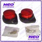 Best Quality Red Led Reflectors Round Brake Light Brake Lamp For Bike Car Truck