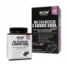 Wow Life Science Activated Charcoal Dietary Supplement - 60 Capsules