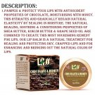 Lass naturals Chocolate and Honey Lip Balm ForSHINE AND GLOWING Lip