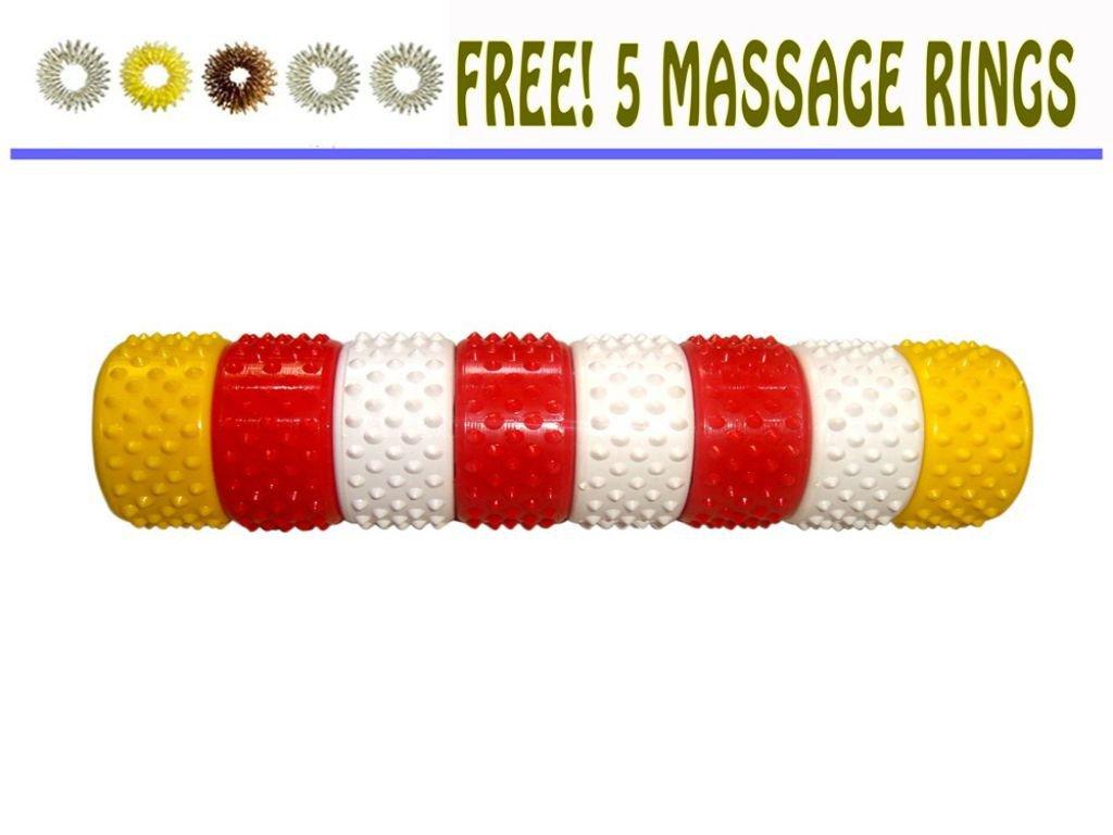 Acupressure Magnetic Hand Roll - Reflexology Massager