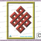 Best Quality Mystic Knot Feng Shui Poster - Prosporous Life And Good Fortune