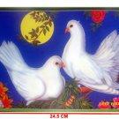 New Feng Shui Poster - For Love, Harbingers Of Good Luck Love Bird Second