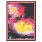 Peony Love Radiant Feng Shui Flower paintings Bedroom For Couples