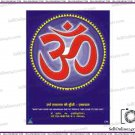 Brand New OM Aum Poster  For Meditation, Peace, Harmony & Effective Healing