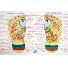 Foot & Hand Reflexology New Visiting Card Very Useful-100 Piece Each Educational