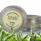 Khadi Herbal Natural Lychee Lip Balm with BeesWax and SheaButter - 10gms