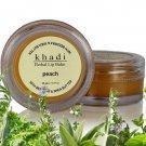 New Khadi Peach Lip Balm with Beeswax & Shea Butter (10gm) Makes Lips Soft