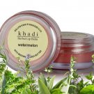 Khadi Herbal Watermelon Lip Balm With BeesWax and Shea Butter - 10gms