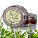 Khadi Herbal Wine Grapefruit Lip Balm With Beeswax And Shea Butter - 10gms