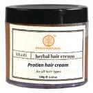 Khadi Herbal Protein Hair Cream With Wheatgerm Oil - 100ml