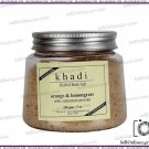 Khadi Orange & Lemongrass Herbal Bath Salt With Cinnamon Powder - 200gm