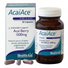 Health Aid Acai Ace For Maintain Healthy Weight 1500 mg -30 Capsules Acai Berry