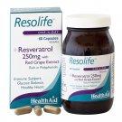 Health Aid Resolife Essence of Resveratrol 60 Vegan Capsules