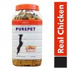 Pet Care Purepet Real Chicken Biscuit, Dog Treats Chicken Flavour- 1000gm