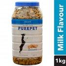 Pet Care Purepet Real Chicken Biscuit, Dog Treats Milk- 1000gm